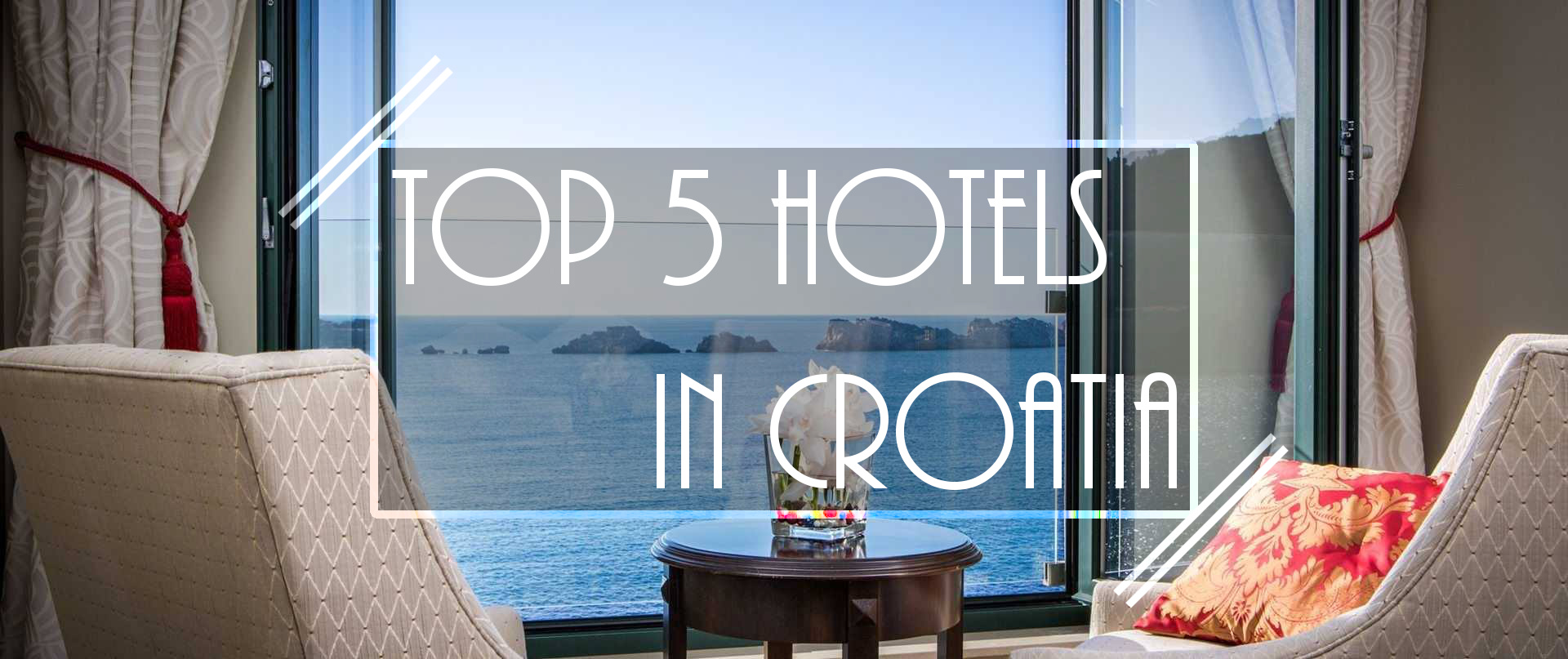 Top 5 hotels in croatia the lavish nomad for Boutique hotel croatie