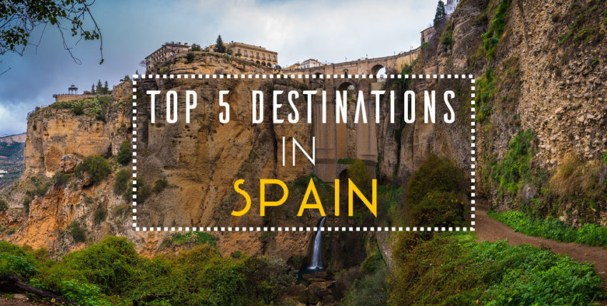 Destinations in Spain